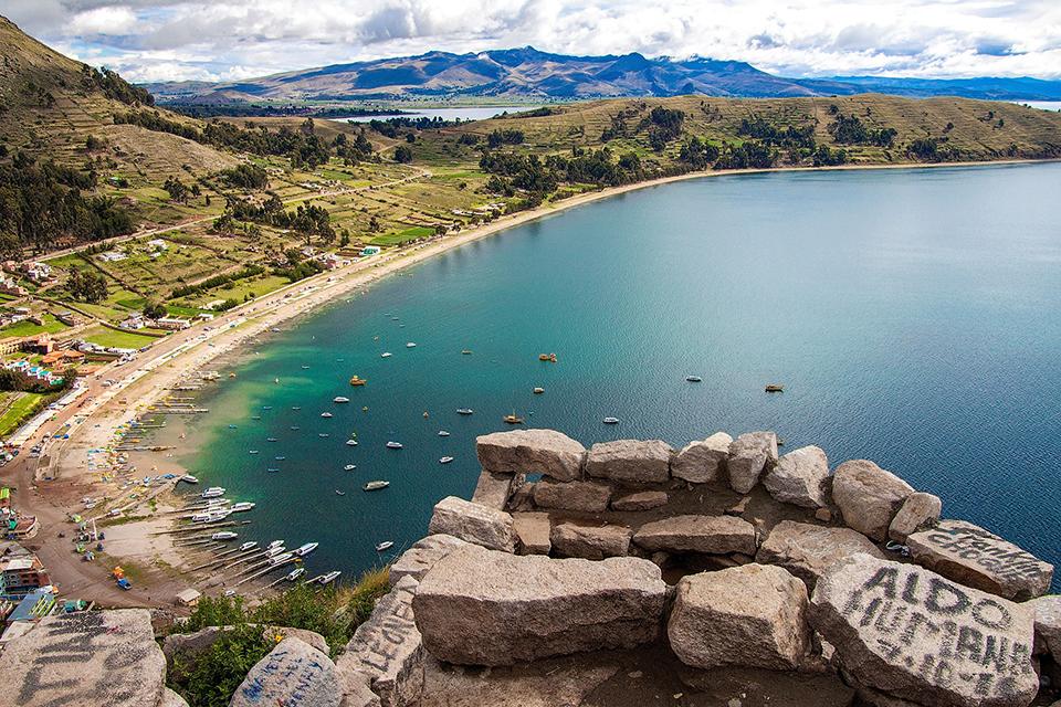 lac titicaca, copacabana, explore le monde, view