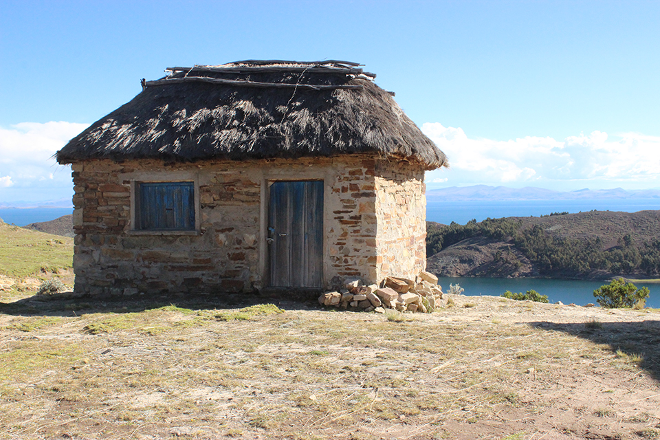 maison, isla del sol, explore le monde, bolivie