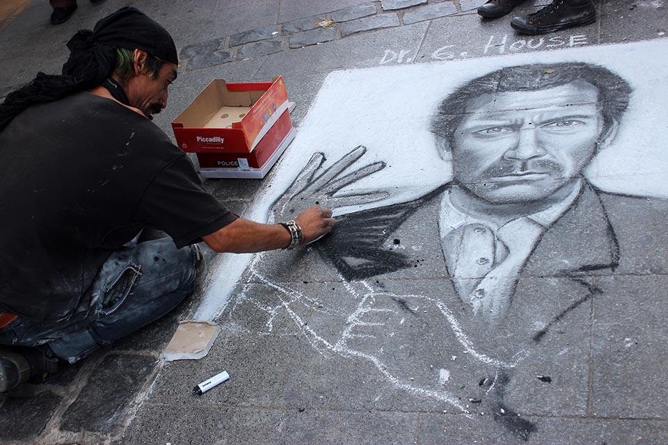 street art, chili, rue
