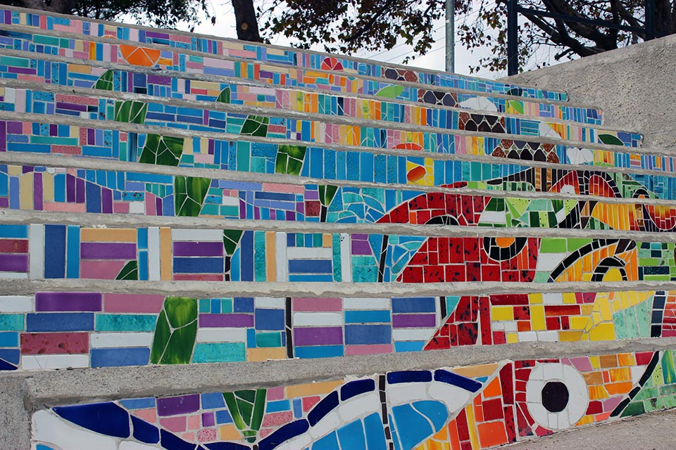 valparaiso, marche, street art, chili