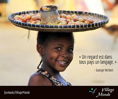 Un regard un langage, Village Monde