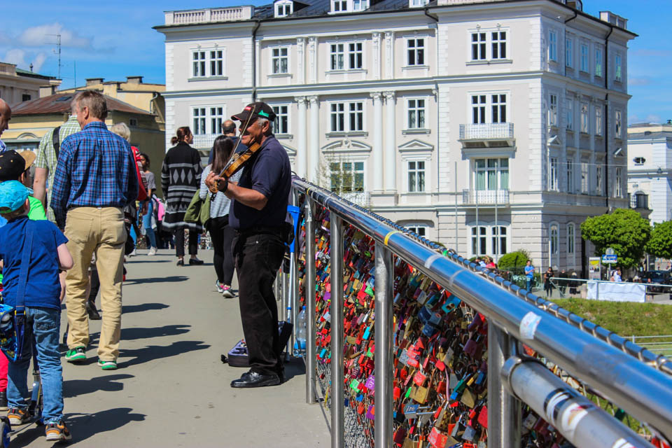 Séjour à Salzbourg