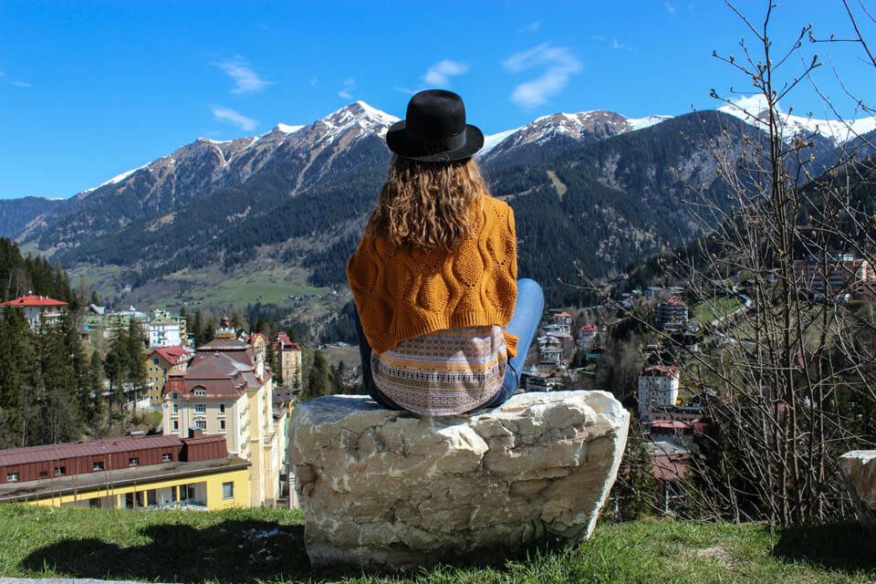 montagne, badgastein