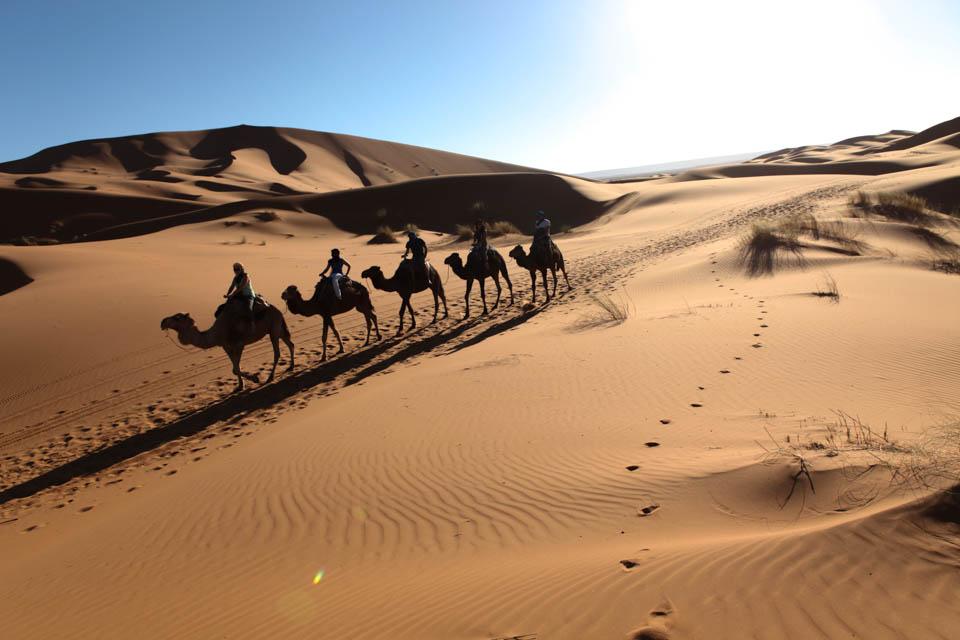 Merzouga, les portes du désert