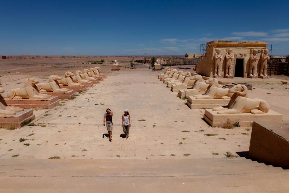 Ouarzazate, un décor de cinéma