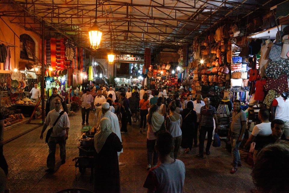 Marrakech, une soirée dans la ville rouge