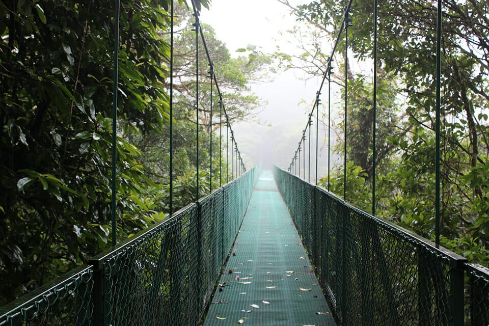 pont suspendu costa rica monteverde