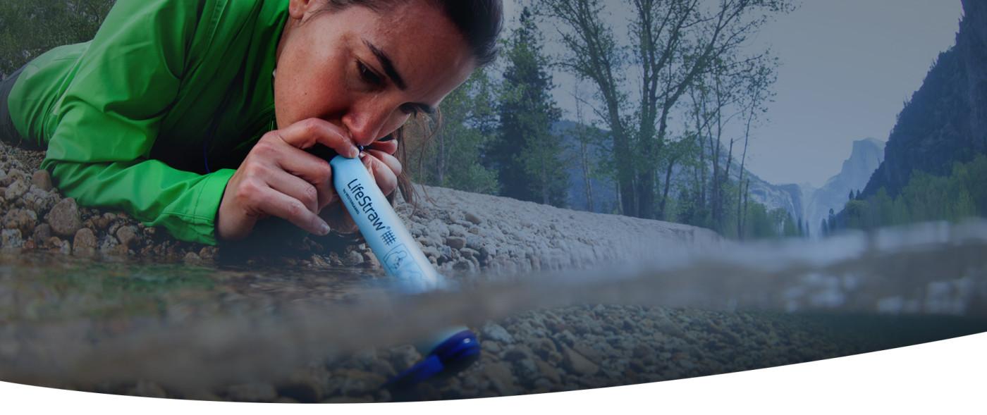 La paille filtrante LifeStraw Personal