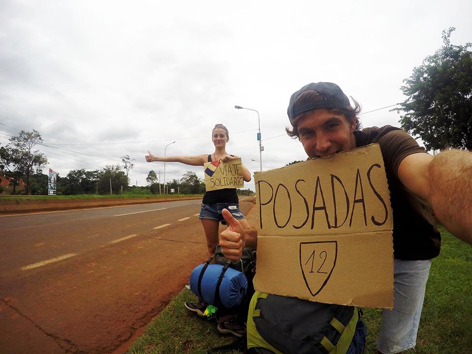 Puerto Iguazu – Buenos Aires en AUTO-STOP !