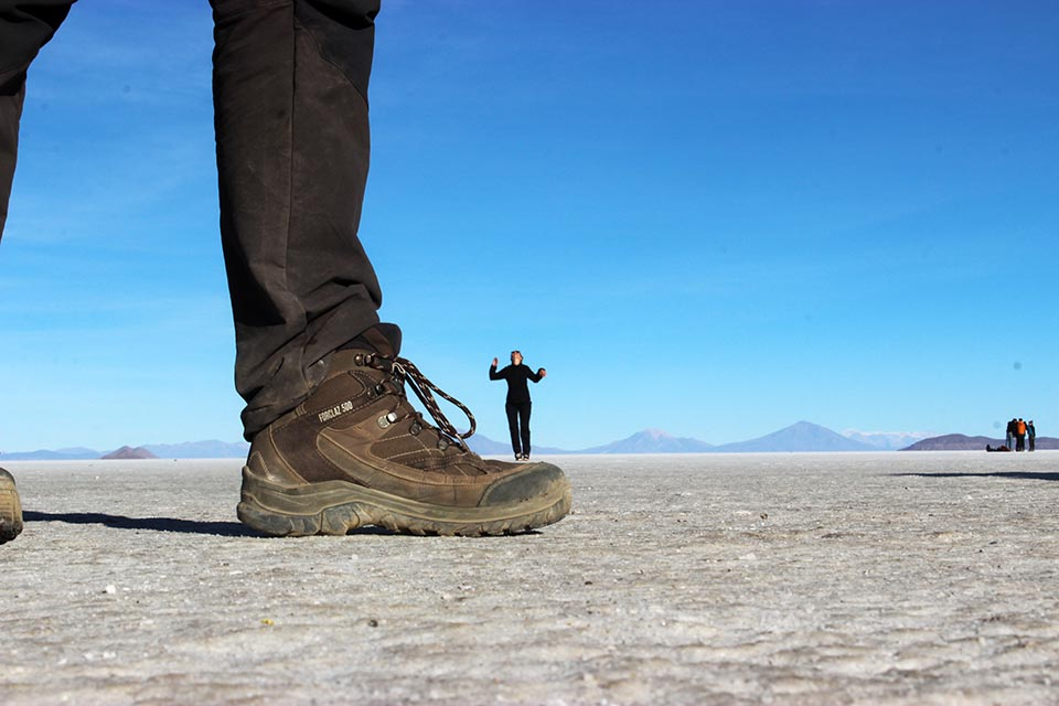 chaussure,salar,uyuni,photo