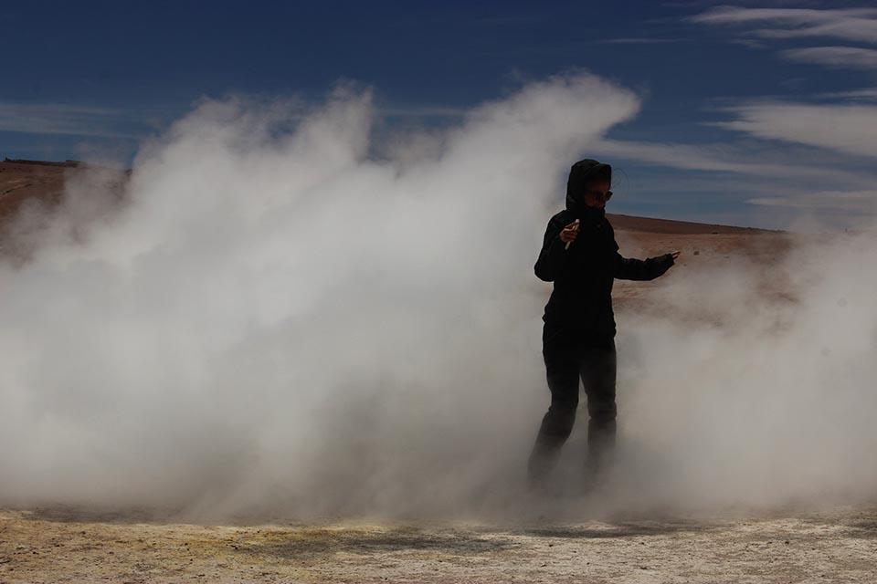 geisers sol de la manana bolivie
