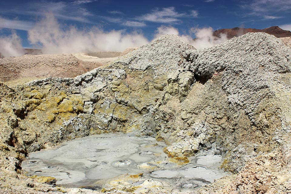 geysers,sol de la manana, Bolivia