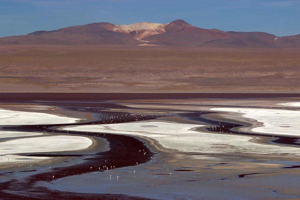 laguna, colorada, paysage