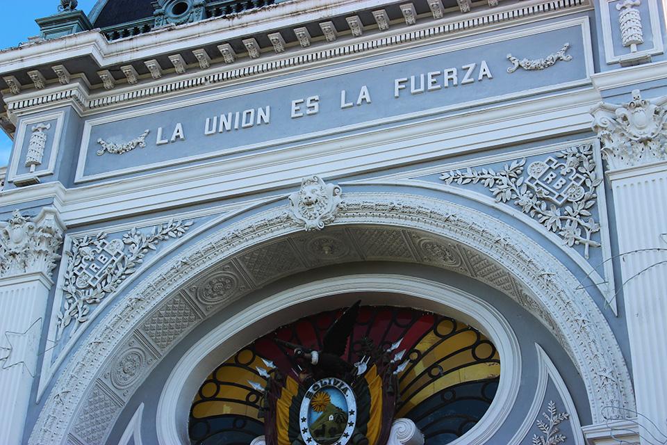 Plaza 25 de mayo, bolivie, sucre