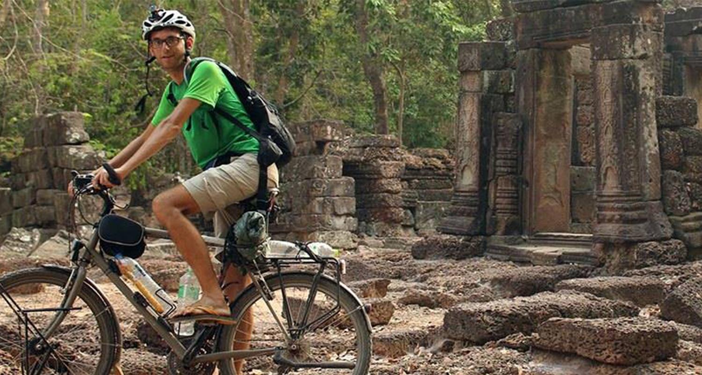 Rencontre avec Pierre Ad : Bangkok-Paris en vélo !