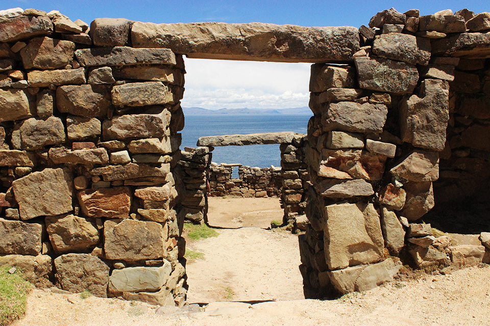 chemin des incas, isla del sol, bolivia