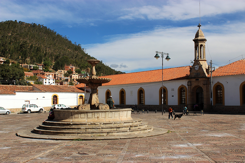 couvent san felipe, plaza, bolivie, sucre