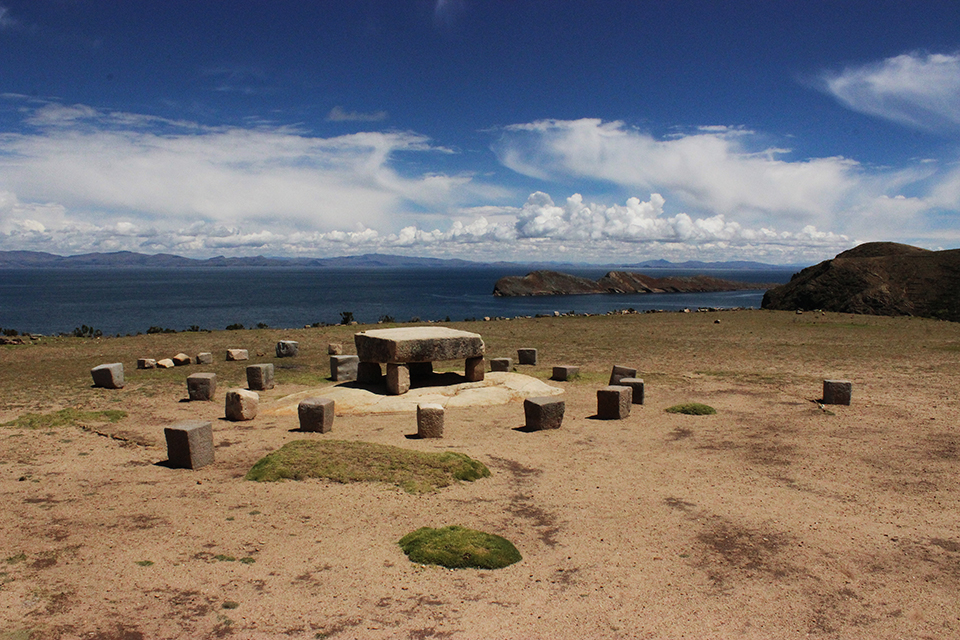 explore le monde, incas, chemin, rituel, isla del sol
