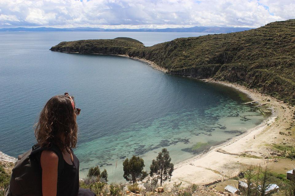 isla del sol, view, bolivie, explore