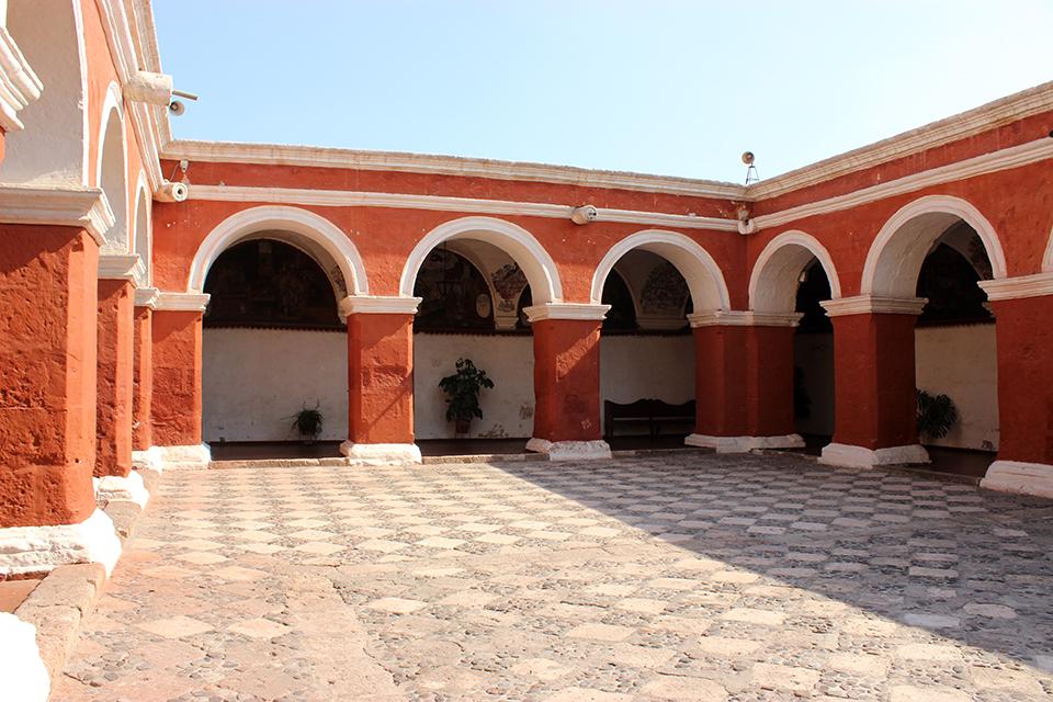 monastere santa lisa, arequipa, peru