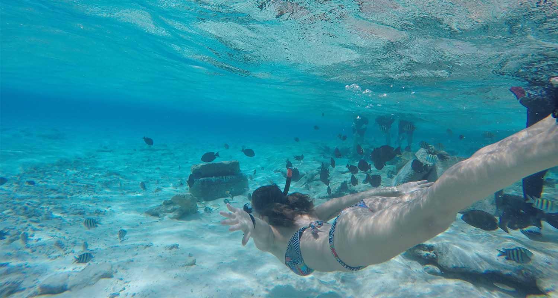 San Andres, la mer aux sept couleurs