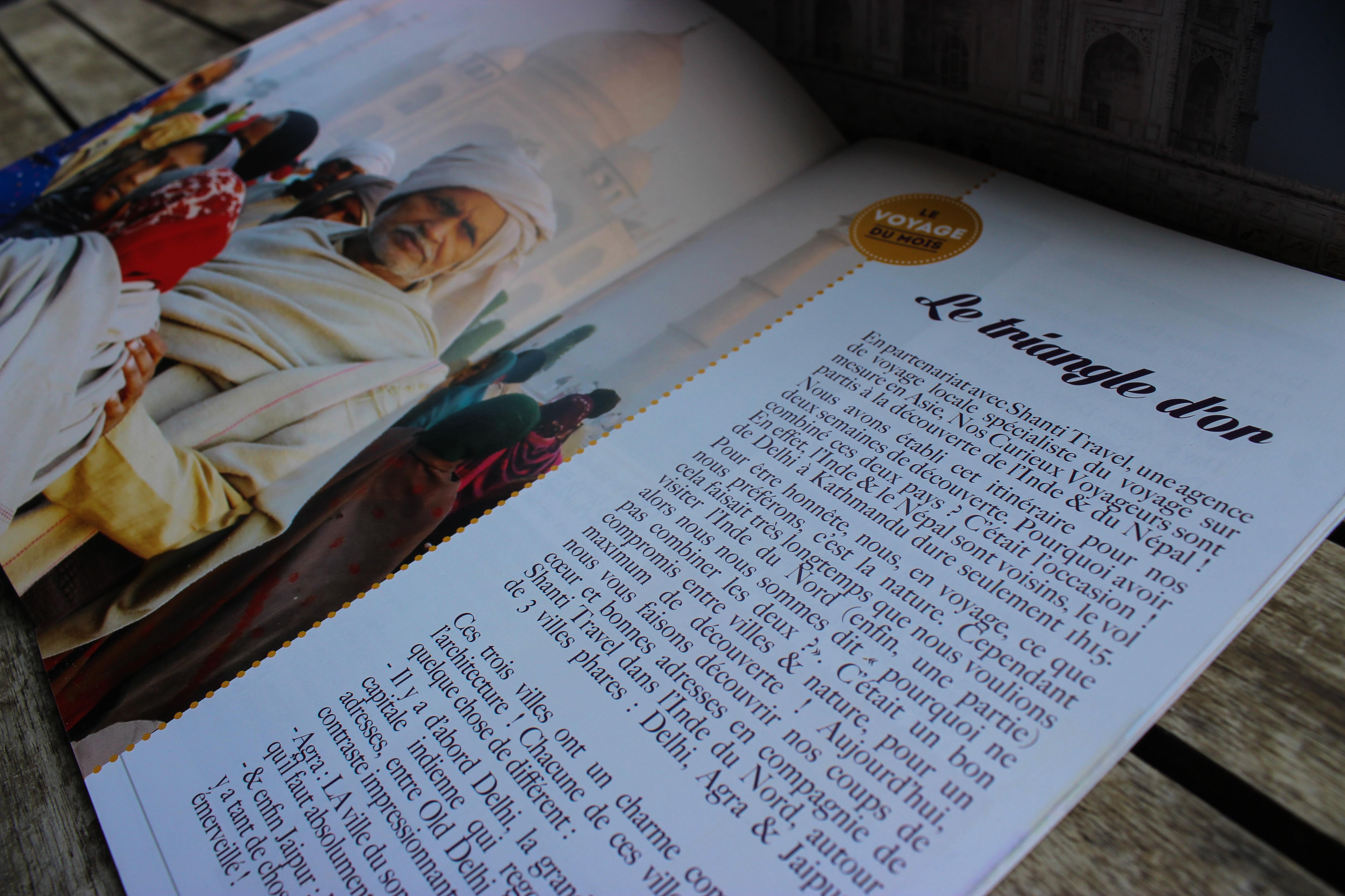 La box des voyageuses part en Inde