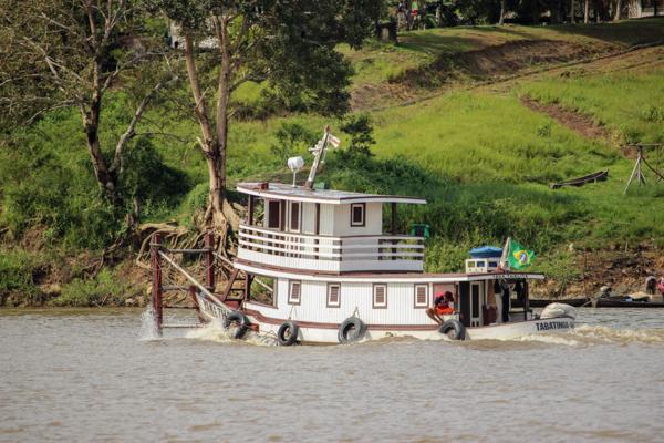 Descente de l'Amazone entre Tabatinga et Manaus