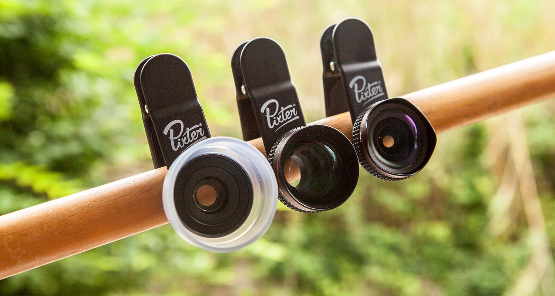 Pixter : des objectifs photo pour smartphone
