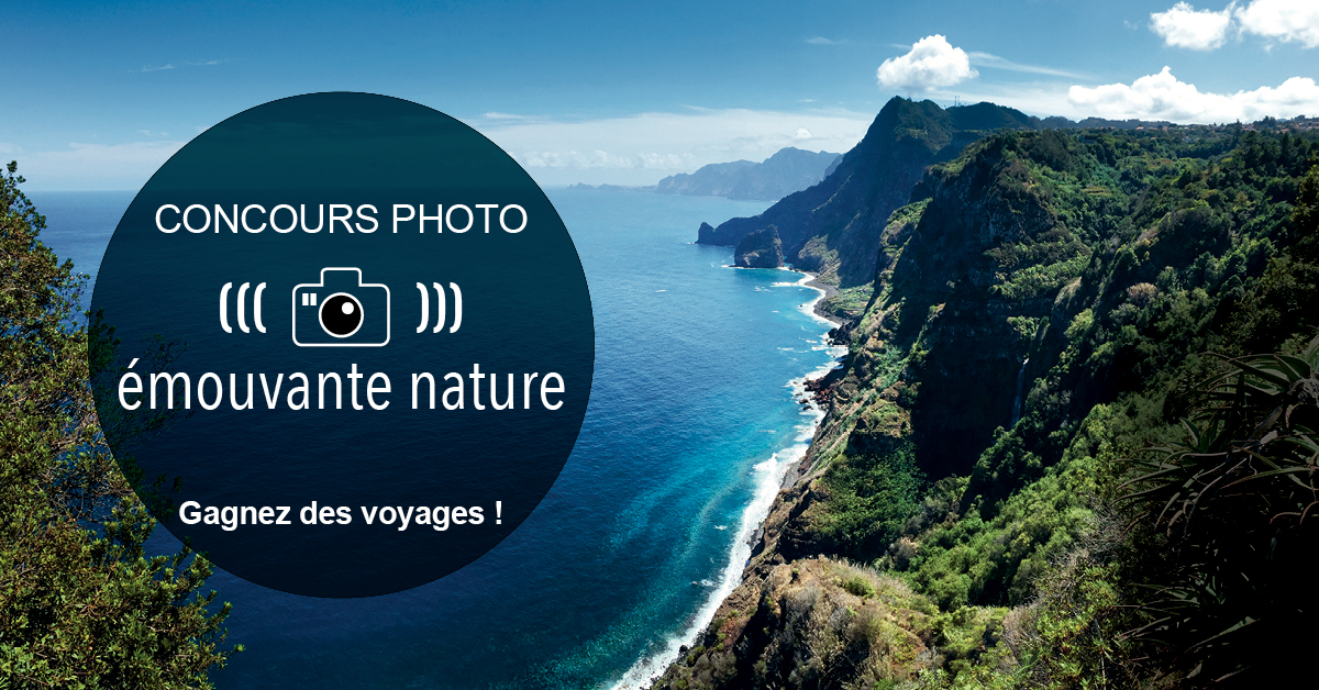"Grand concours photo Chamina Voyages ""Emouvante Nature"""