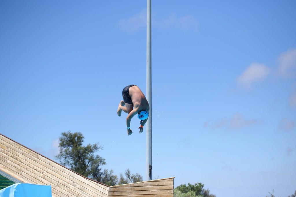 Water-jump-toboggan-pyrénées orientales
