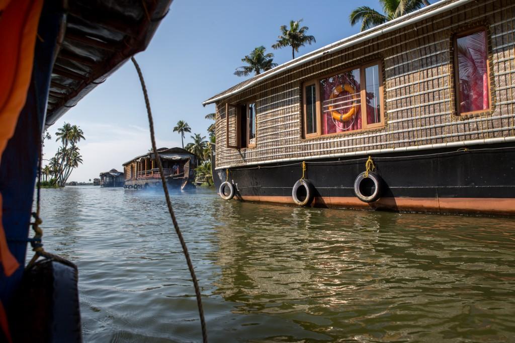 Inde-Alleppey-houseboat-kerala