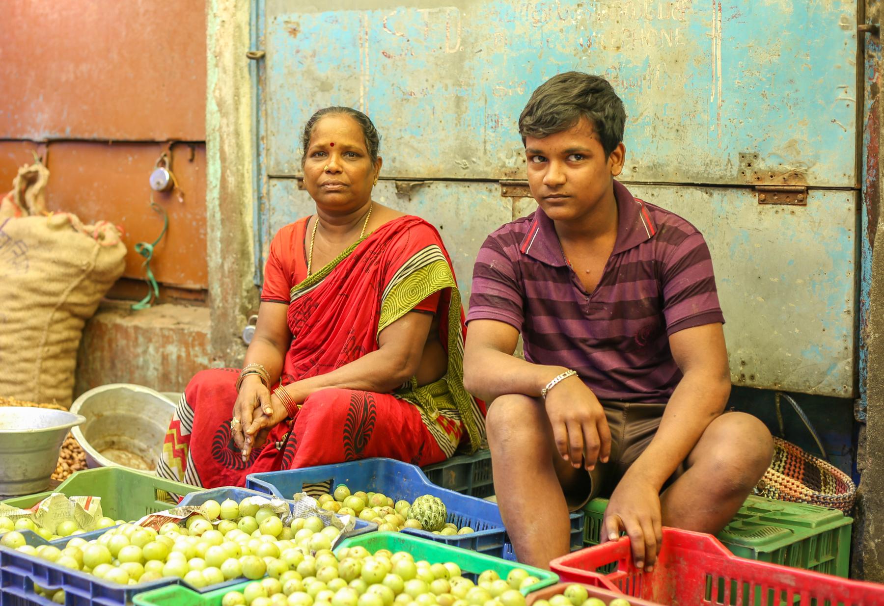 Inde-marché-reportage-pondichery-goubert-market