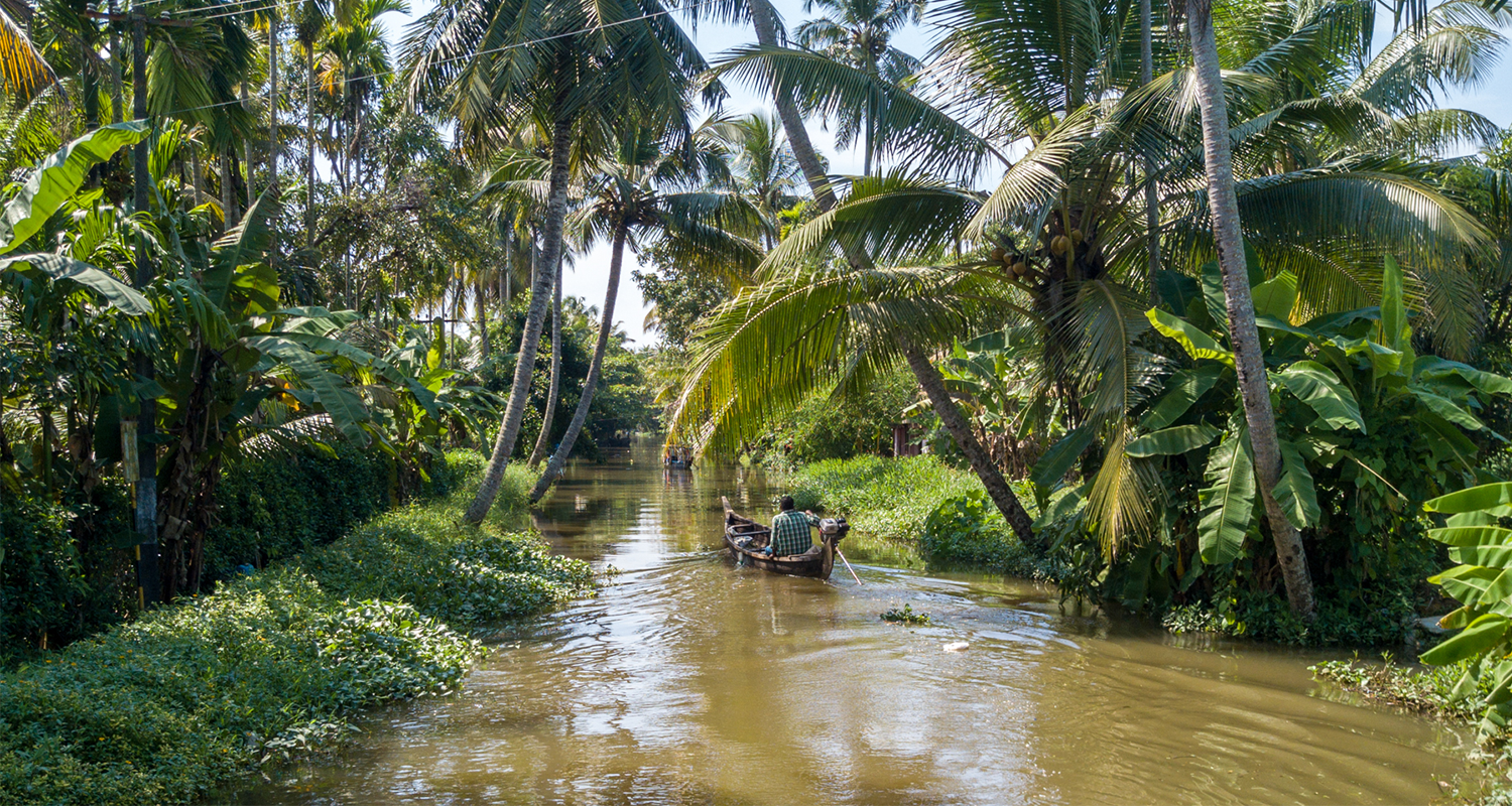Alleppey, le Kerala en backwaters