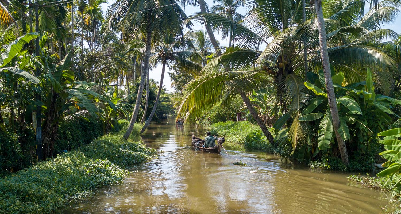 Alleppey, le Kerala en backwaters