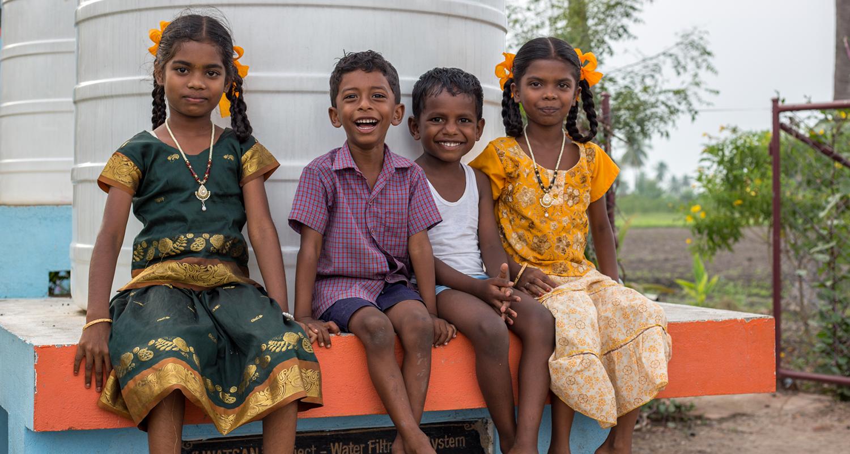 Découverte des projets de Kynarou en Inde