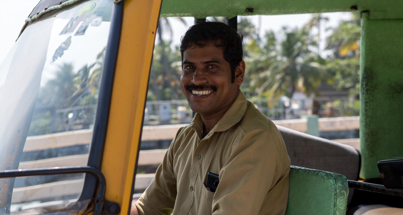 Pourquoi faire la route Alleppey – Cochin en Tuk tuk ?