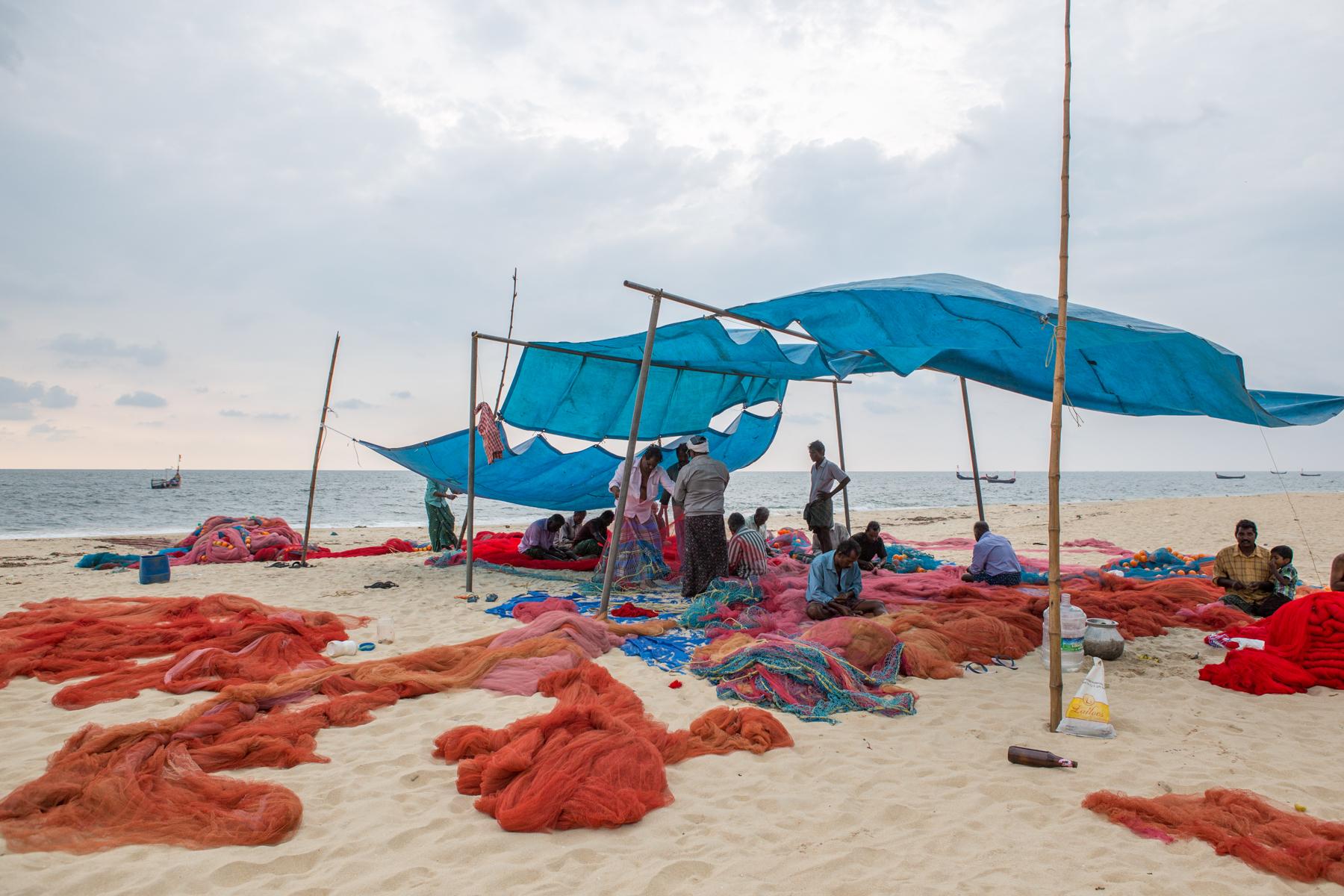 kerala-marari-beach-alleppey-inde