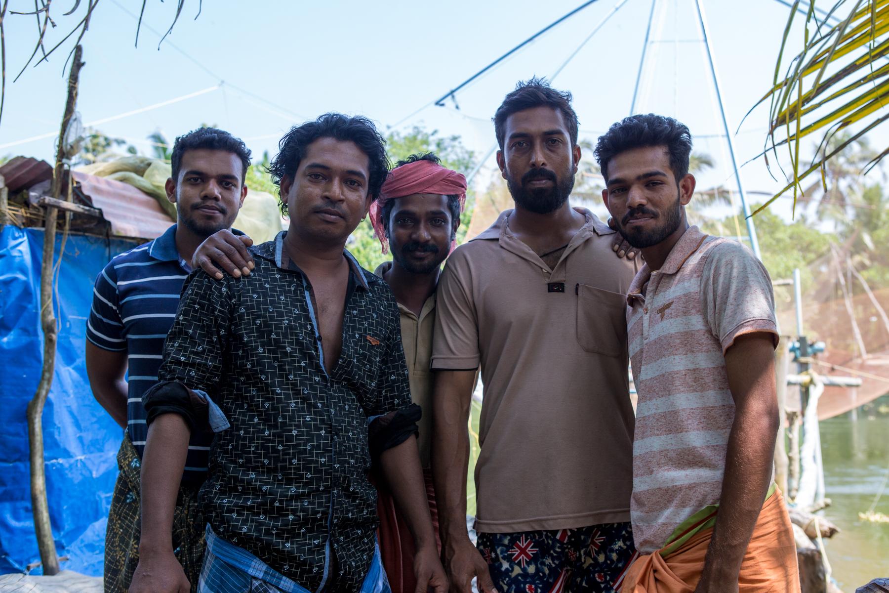 pecheurs-inde-kerala-cochin