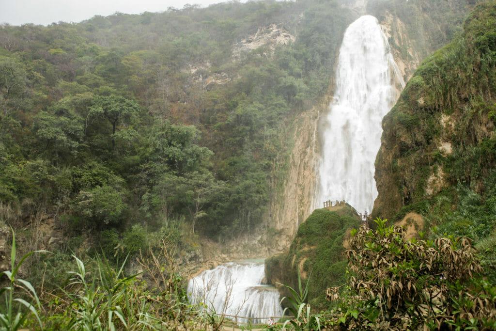 Chiapas-Mexique-El Chiflon-voyage-cascades