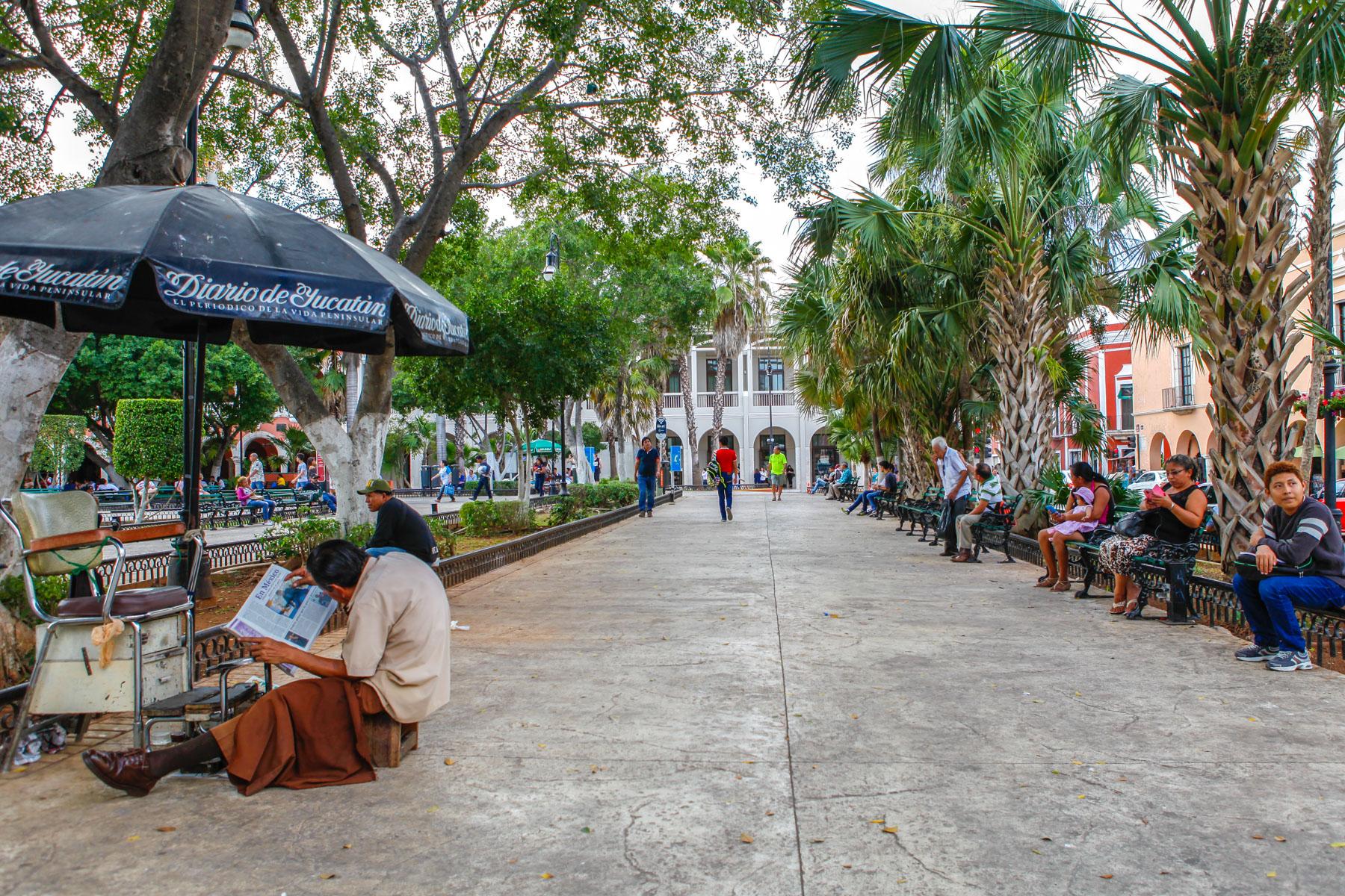 Merida-Mexique-Voyage-place