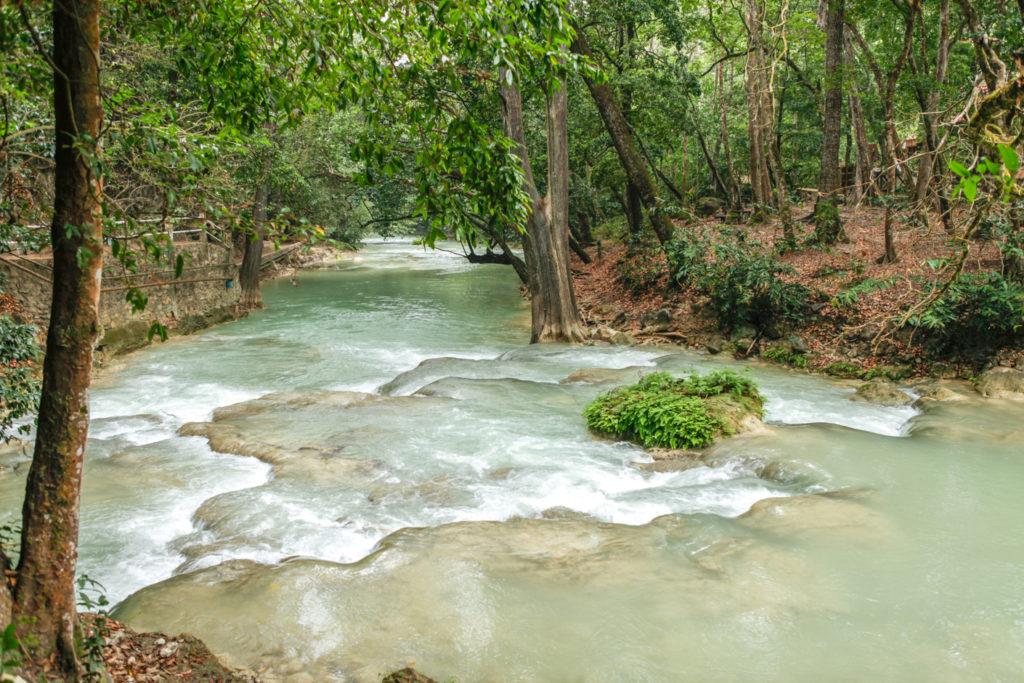 Mexique-Chiapas-El Chiflon-cascade-voyage