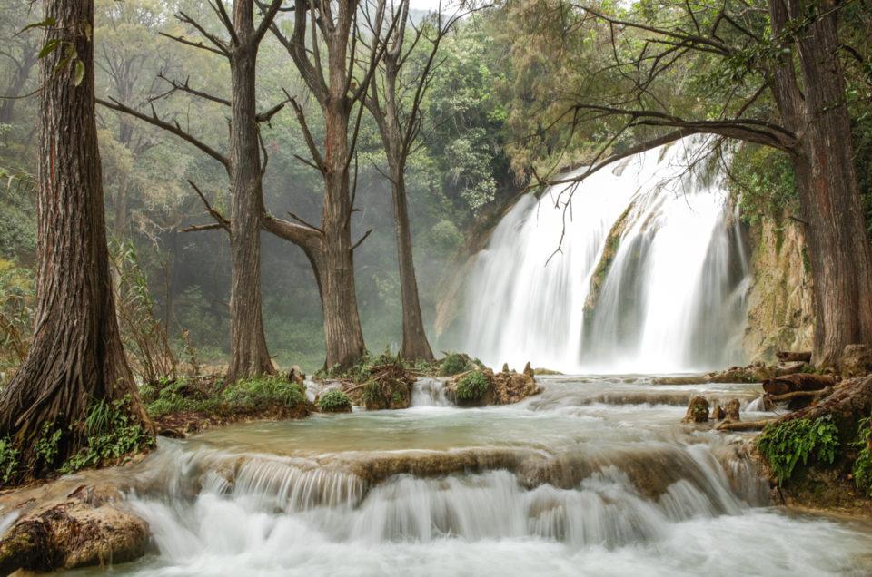 Visiter les Cascades de El Chiflon