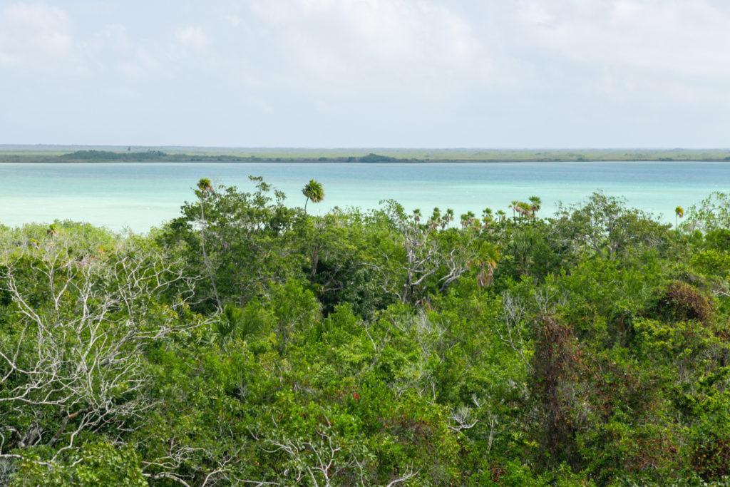 Muyil-laguna-sian ka'an-mexique-maya-ruines