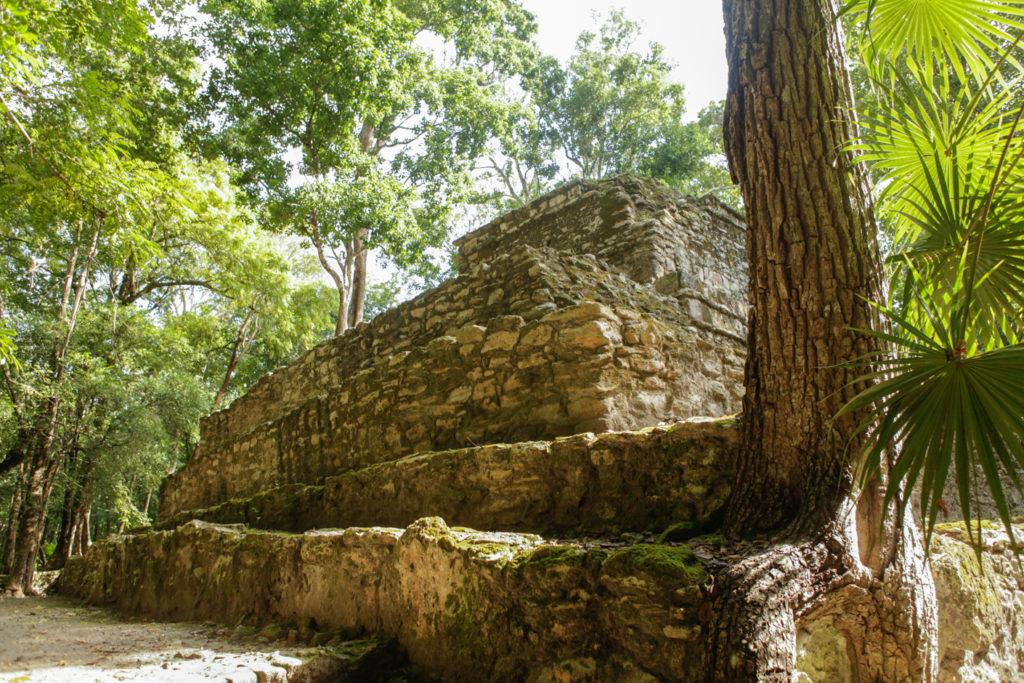 Muyil-laguna-sian ka'an-mexique-ruines