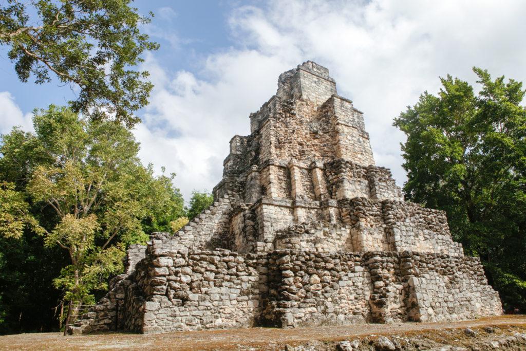 Muyil-laguna-sian ka'an-mexique-ruines-maya