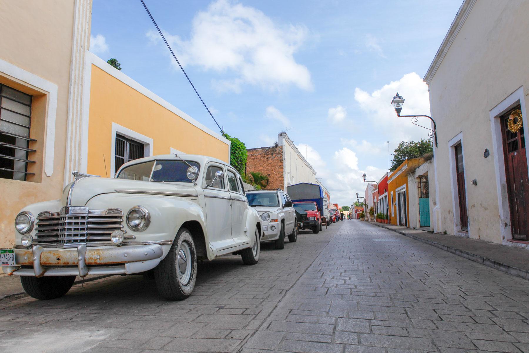 Valladolid-Mexique-voyage-rue