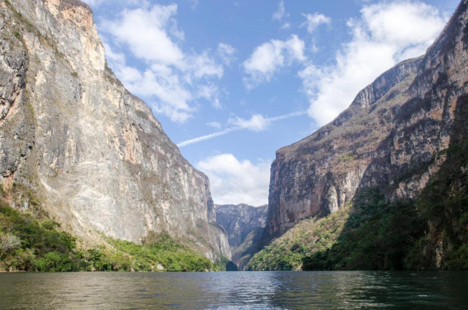 Le cañon del Sumidero, merveille du Chiapas
