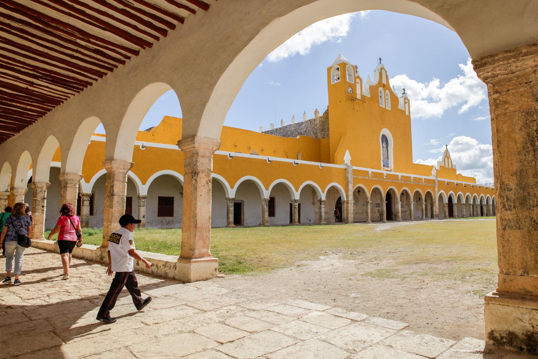 izamal-mexique-voyage-yucatan-San Antonio-Padua-couvent