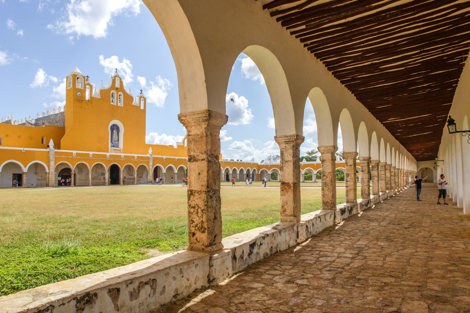 izamal-mexique-voyage-yucatan-couvent-San Antonio-Padua