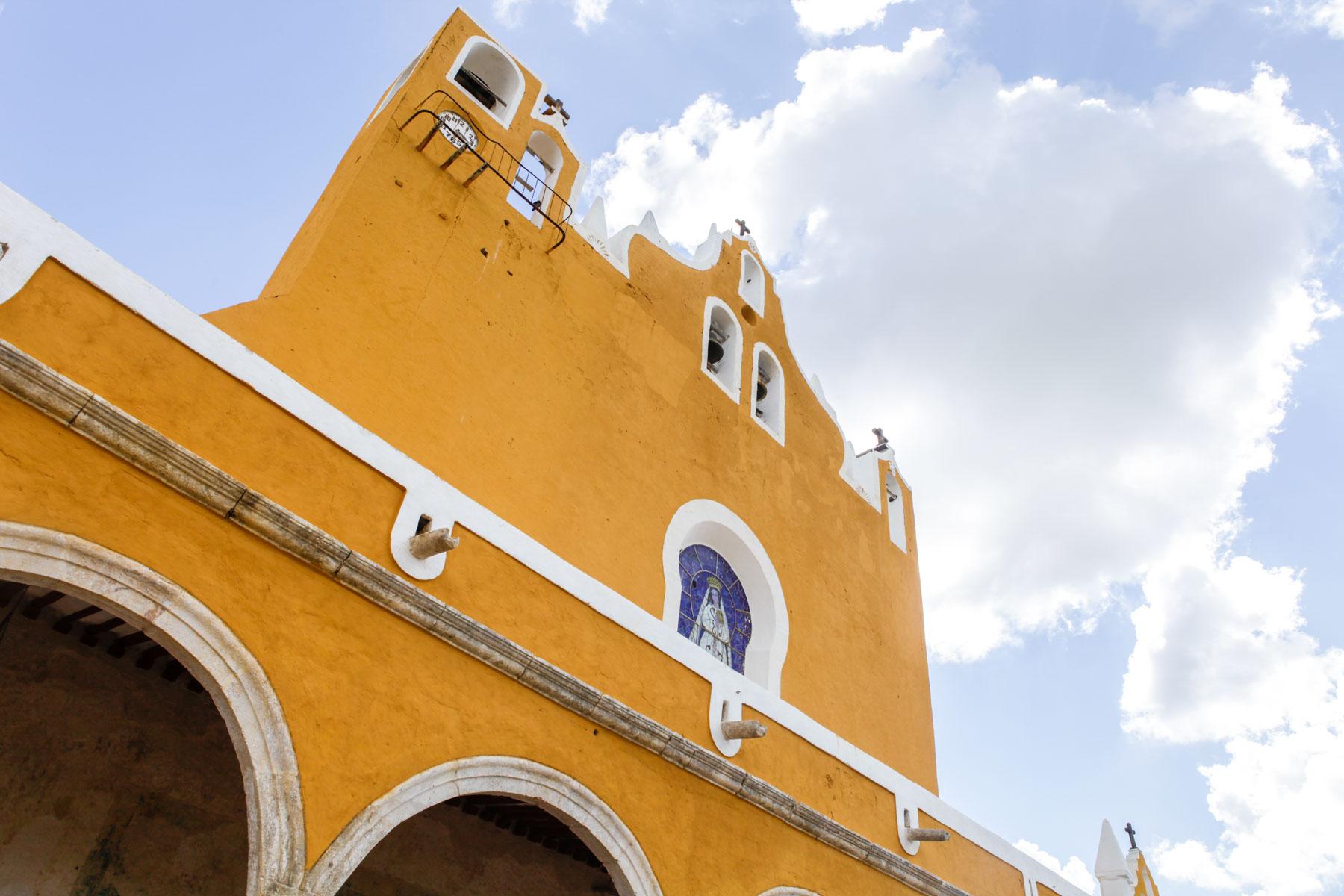 mexique-izamal-yucatan-couvent-San Antonio-Padua